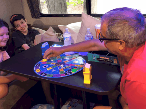 Camping RV Family activities