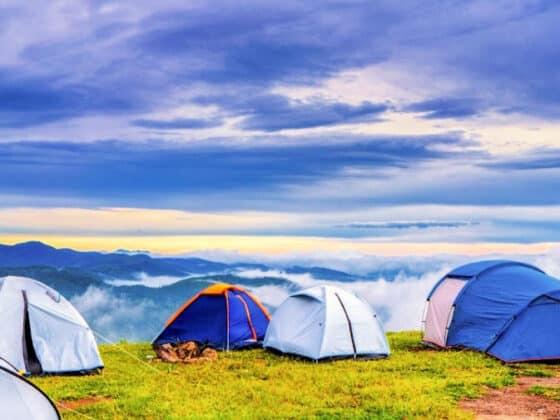 Camping on a Budget Tents RVs Rentals
